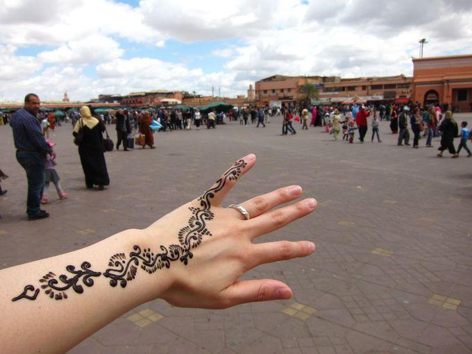 ヘナタトゥーをしたいならフナ市場は手軽に楽しめるおすすめの場所!