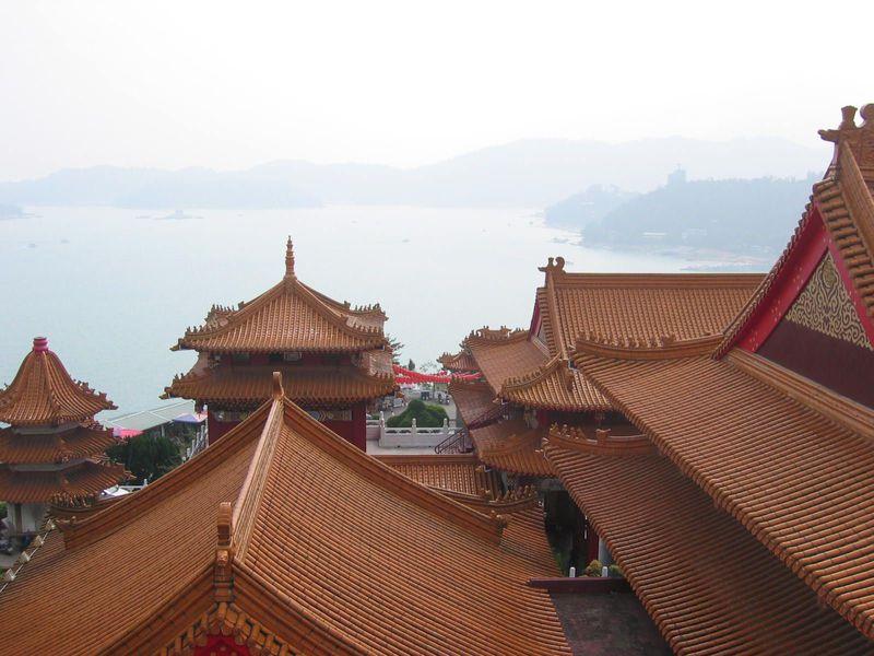 台湾最大の湖!「日月潭」で美しい景色を満喫