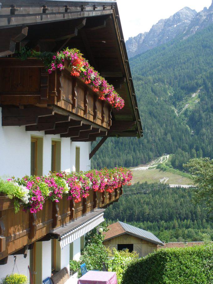 テルフェス村をはじめ、周辺の村々はお花や壁絵の美しい村!