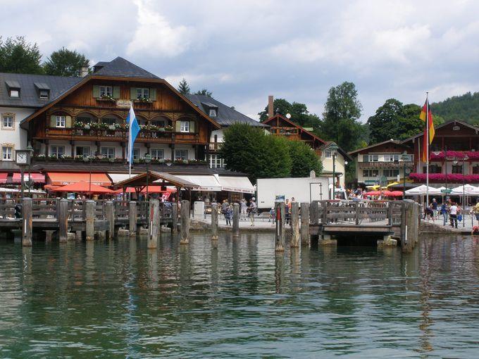 遊覧船でケーニヒス湖を巡ろう!