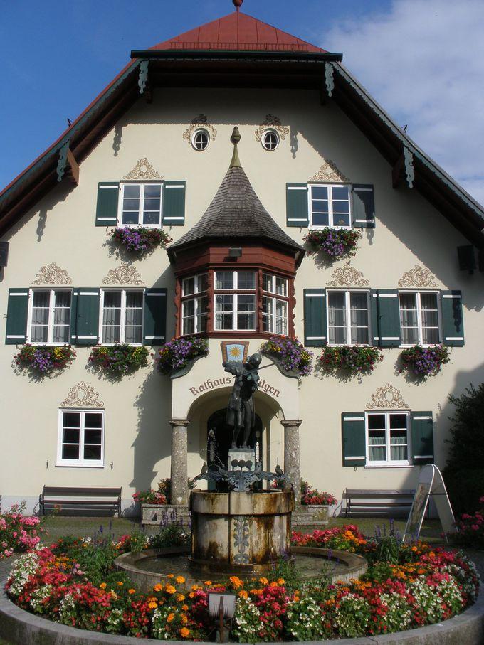 湖畔のザンクト・ギルゲンは幼いモーツァルトに出会える町!
