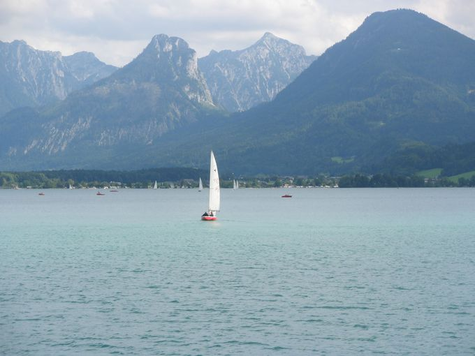 湖上を渡る遊覧船からの眺めを満喫しよう!