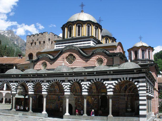 ブルガリア正教会の総本山!リラの僧院