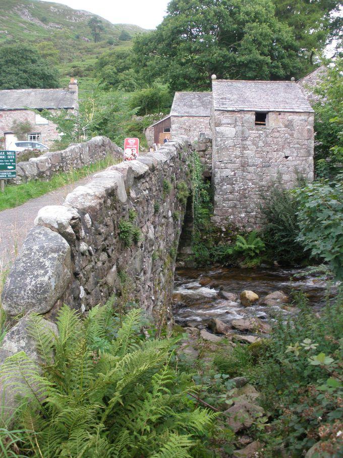 ブートの村は水車小屋の残る歴史地区