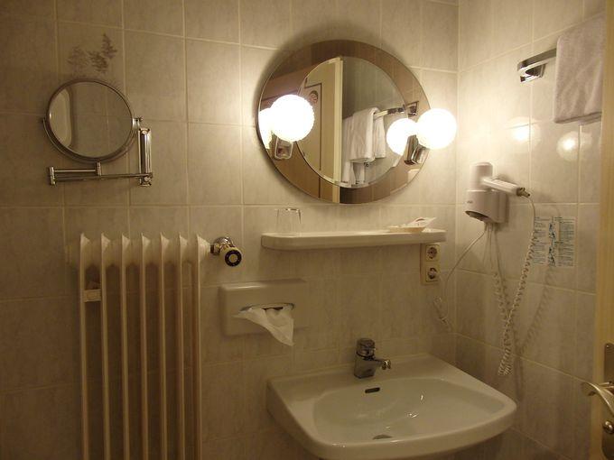 使い勝手の良いバスルーム