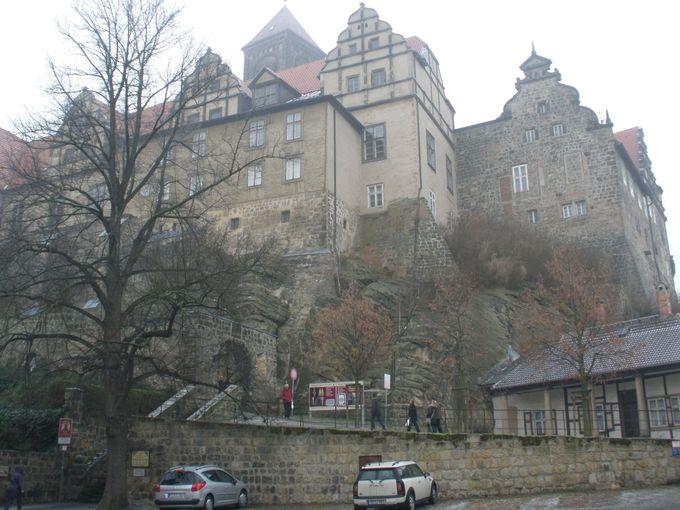 王の居城だったシュロスベルグ