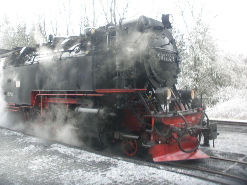 魔女が集合する伝説のブロッケン山へは蒸気機関車で!独ハルツ地方の最高峰