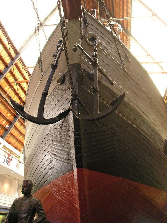 フラム号博物館で、充実した船内探検を!