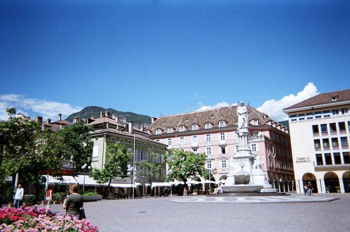 中心地のヴァルター広場