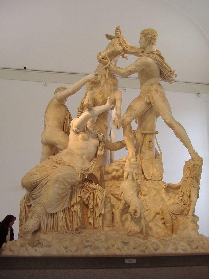 ファルネーゼ・コレクションの大理石彫刻