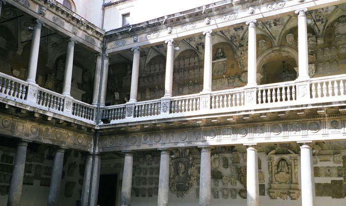 ガリレオも講義したパドヴァ大学の回廊