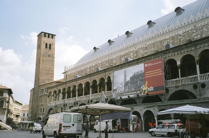 パドヴァ繁栄のシンボル「ラジョーネ宮」は、世界最大のサロン!
