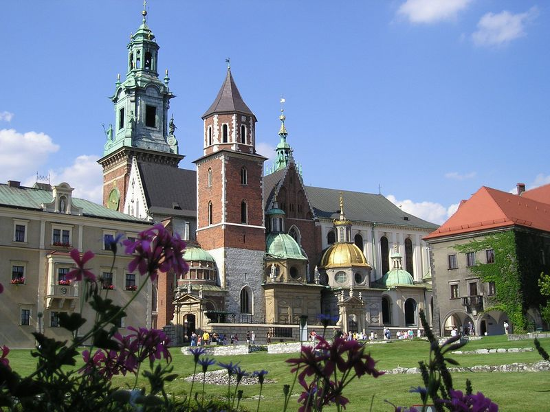 かつてのポーランド王国の首都「...