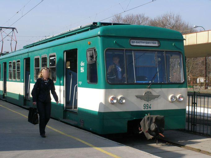 世界遺産のブダペストから郊外電車で日帰り訪問