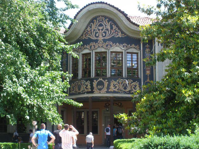 地域民俗博物館となっている「ゲオルギの家」