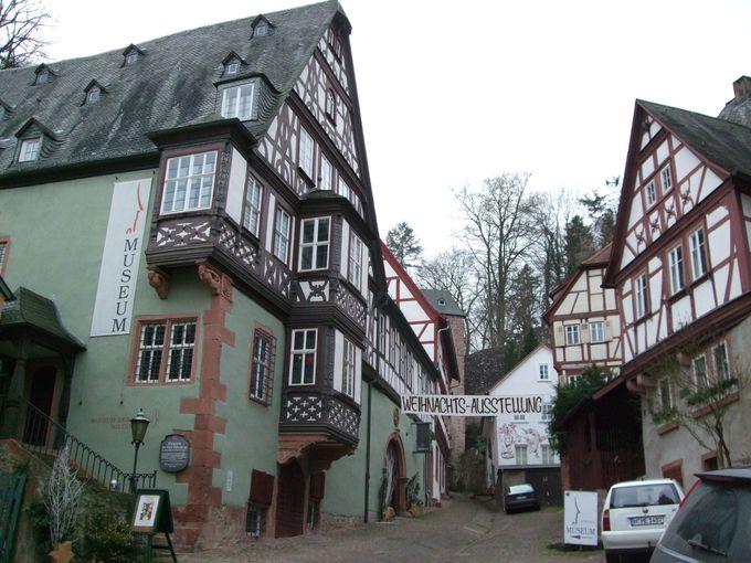 町の歴史を展示するミルテンベルク市博物館