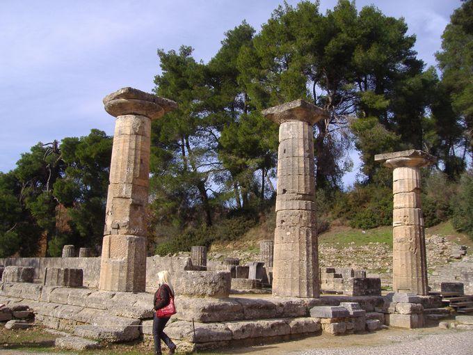 古代オリンピック発祥の「オリンピア遺跡」