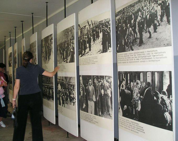 博物館内のインフォメーション