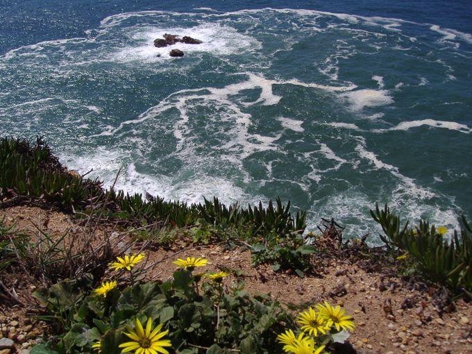 地の果てを実感する断崖絶壁