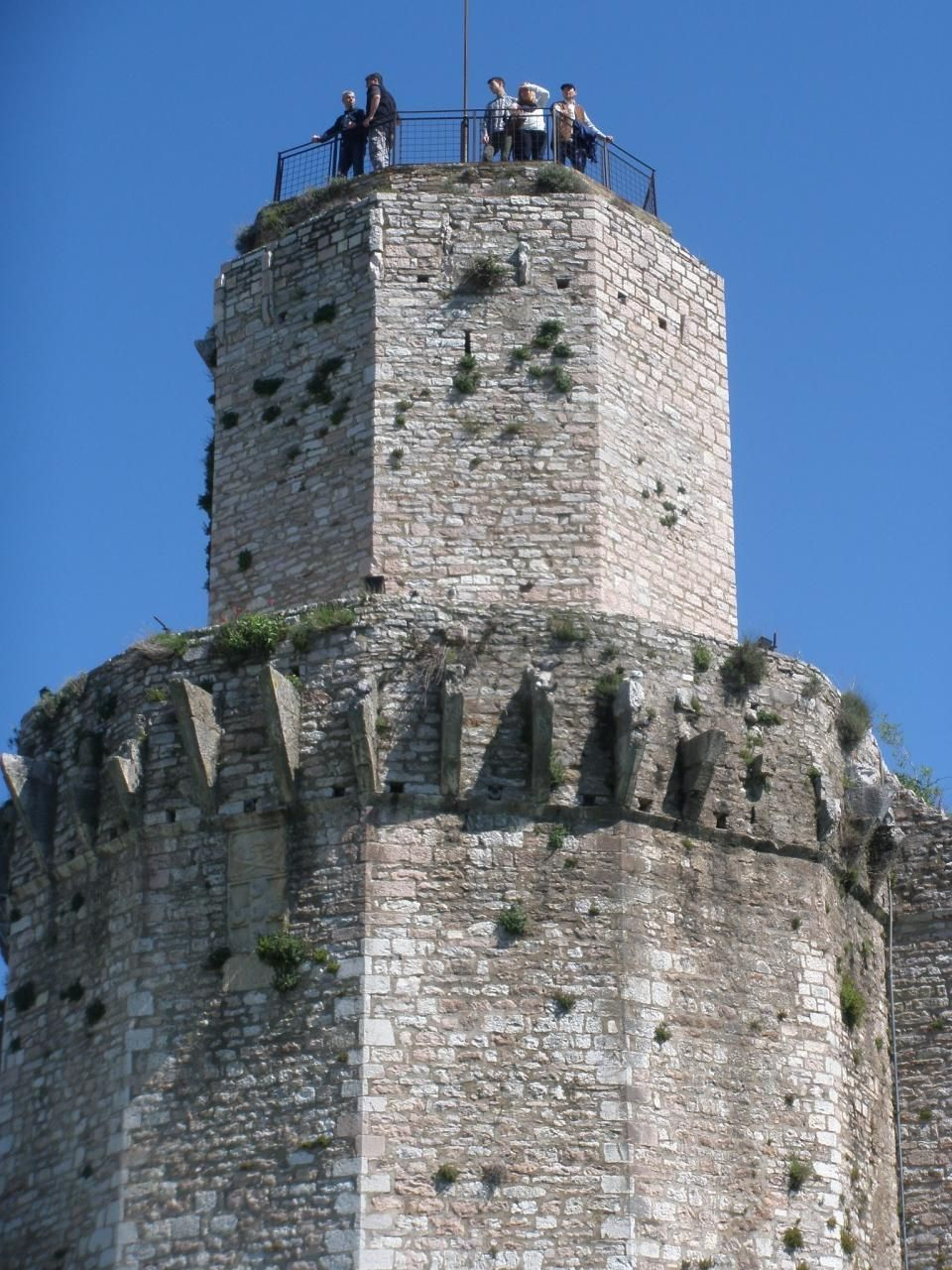 大城塞からの眺めも最高!