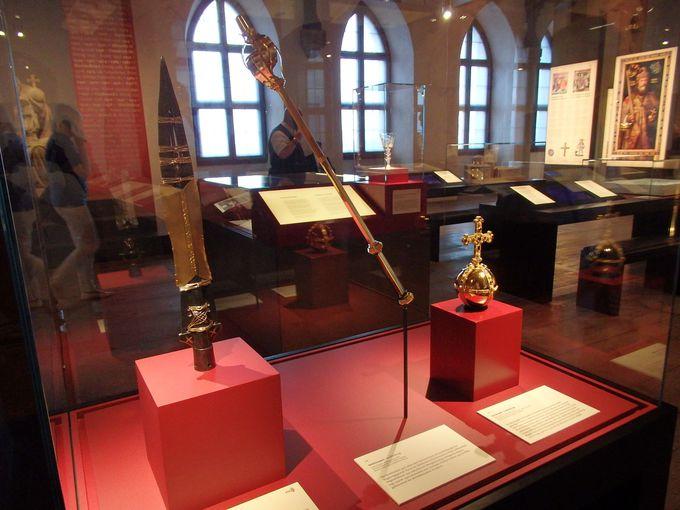 博物館となる城内は自由見学