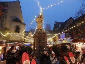 仏・アルザス地方の秘宝「エギスハイム」ワイン街道のクリスマスシーズンの魅力