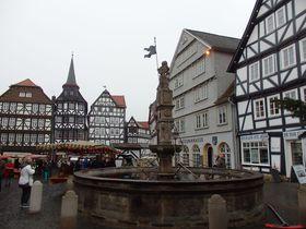 メルヘン街道沿いの町「フリッツラー」豪華な木組みとクリスマス