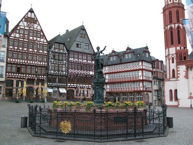 経済の中心地フランクフルトの観光は・・・