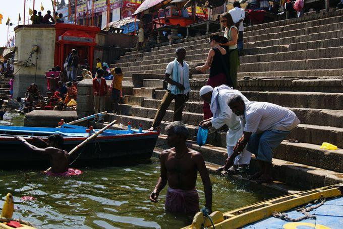 ヒンドゥー教徒にとっての聖地・ガンジス川