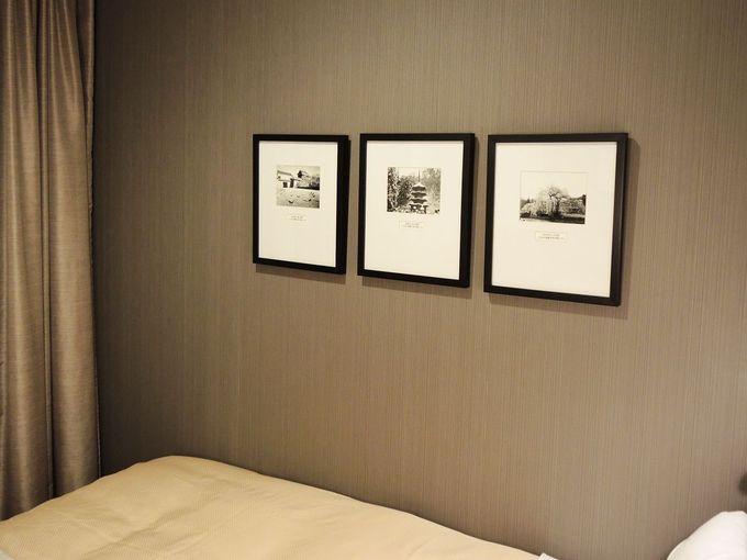 スタイリッシュなデザイン性の高い客室