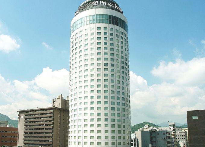 札幌のイメージを体現するかのような迫力のタワー