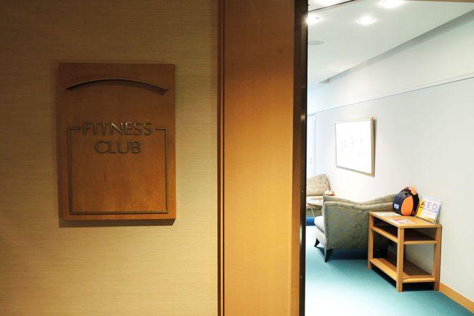 充実施設のフィットネスクラブ