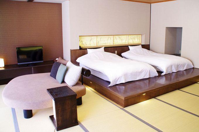 ホテルライクな快適客室