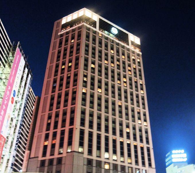 横浜駅前のデラックスホテル