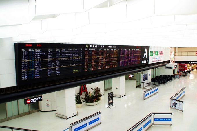 空港とホテル