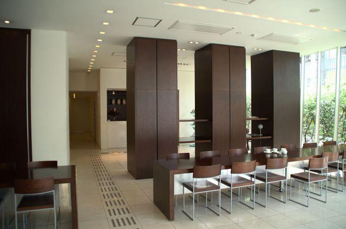 デザイン性高きホテル