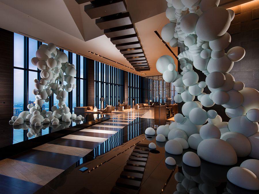 独創的なアート作品に溢れたホテル