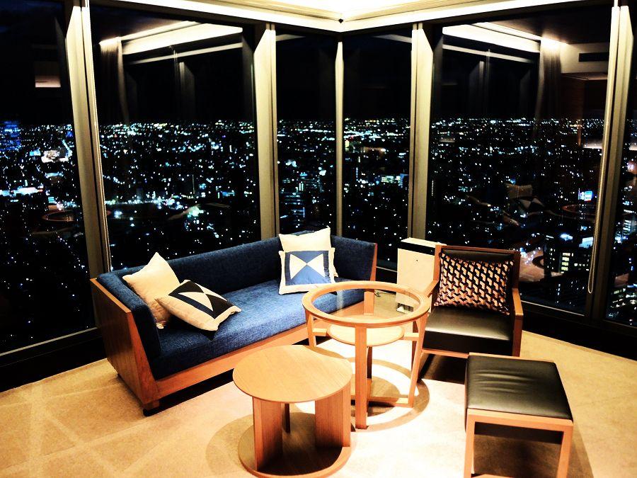 名駅を望む圧巻の眺望が感動的「名古屋プリンスホテル スカイタワー」