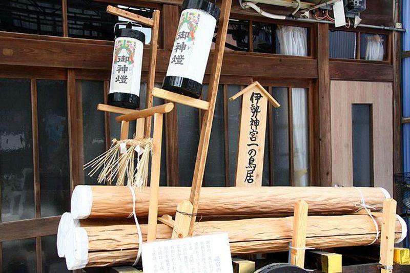 20年に一度の伝統行事「お木曳き」を見に、三重・関宿へタイムトリップ