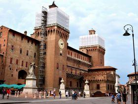 エステ家の陰謀うずまく城で恐怖体験!!イタリア「フェラーラ」