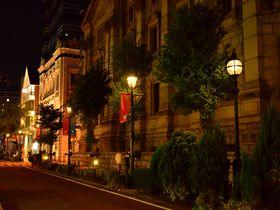 横浜「関内」夜風が気持ちいい!日本初のガス灯煌めく散歩道