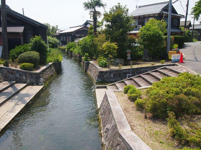 日本遺産「琵琶湖とその水辺景観−祈りと暮らしの水遺産」に含まれる「針江・生水(しょうず)の里」とは