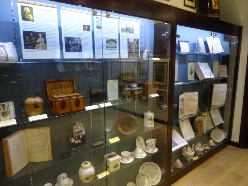 300年以上の歴史が陳列されている「ミニ博物館」