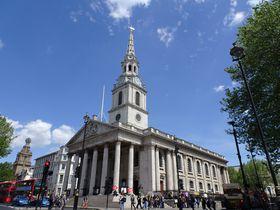 ホラーなカフェとコンサートが目玉の教会!ロンドン「セント マーティン イン ザ フィールズ」