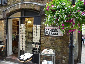 ロンドン・天使のアンティークマーケット「カムデン パッセージ」