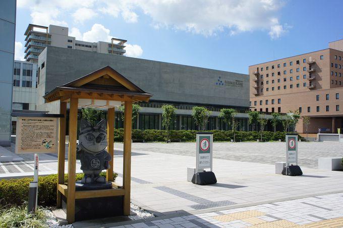 雲を映す水庭は必見!安藤忠雄の才が光る秋田県立美術館