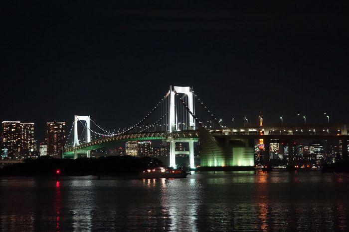 東京夜景の決定版!クルマで行くレインボーブリッジ夜景5選