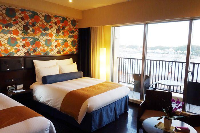那覇の港の景色を一望!開放感あるゲストルーム