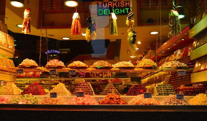 トルコ菓子の代表といえば