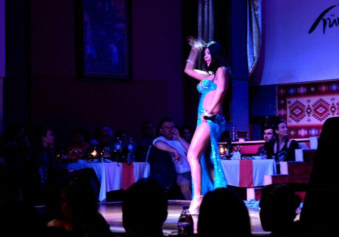 ハレムで洗練され、変化していくベリーダンス